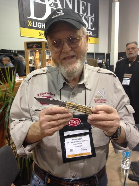 Tony Bose and his Folding Hunter